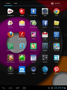 Ekrāns un ikonas